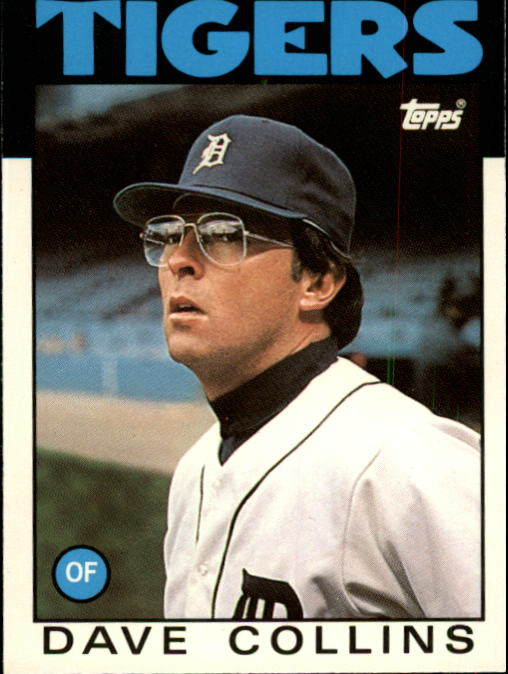 1986 Topps Traded #27T Dave Collins