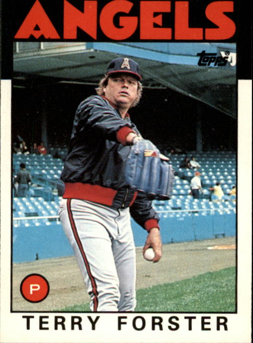 1986 Topps Traded #37T Terry Forster