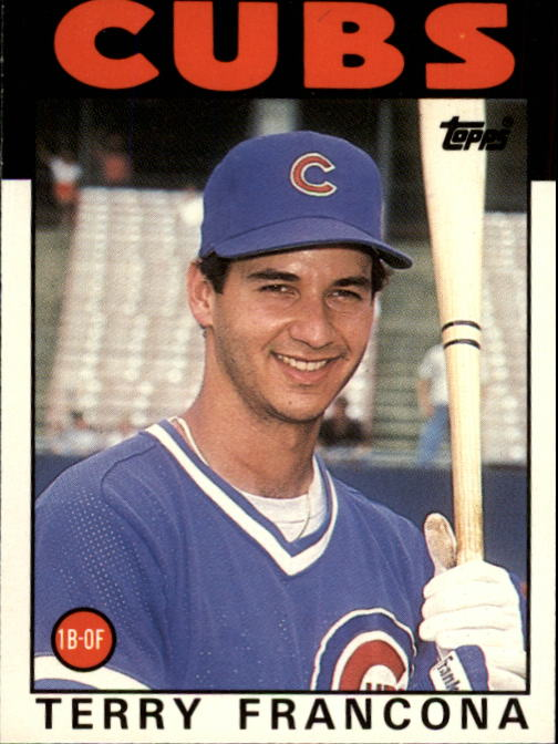 1986 Topps Traded #38T Terry Francona