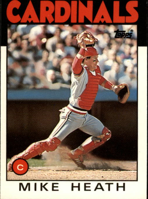 1986 Topps Traded #46T Mike Heath