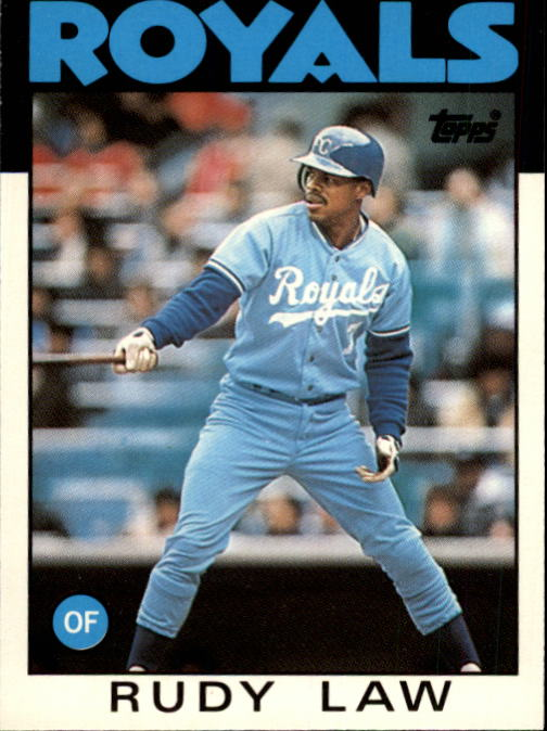 1986 Topps Traded #62T Rudy Law