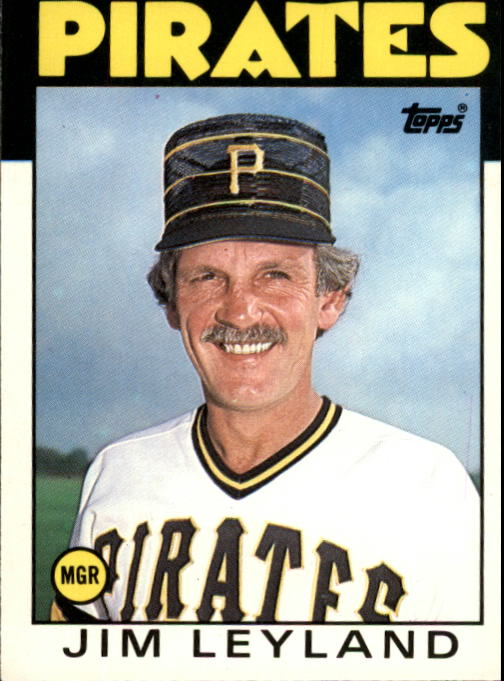 1986 Topps Traded #66T Jim Leyland MG XRC