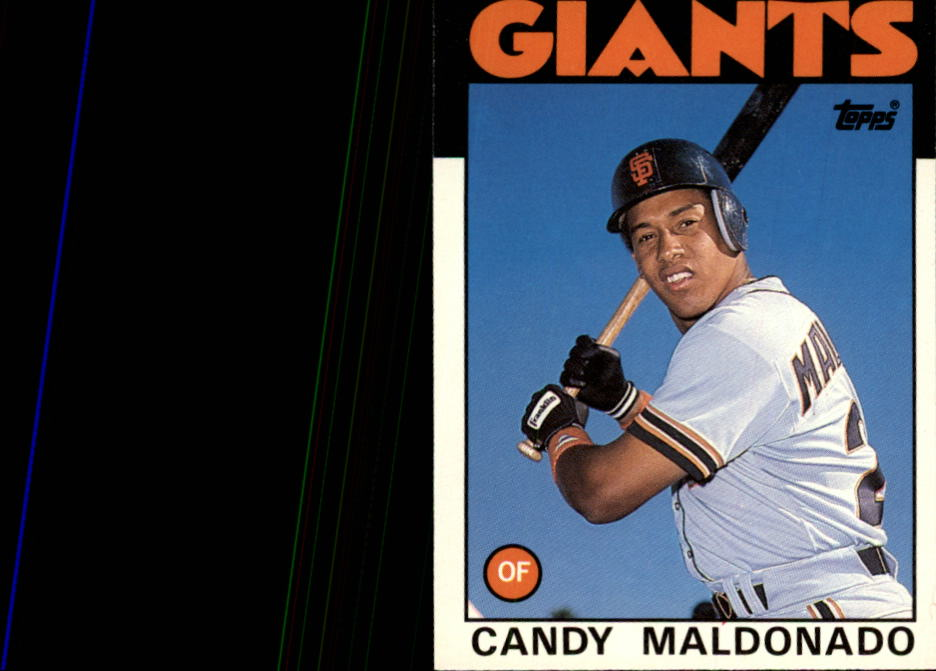 1986 Topps Traded #69T Candy Maldonado