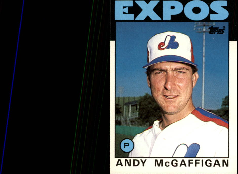 1986 Topps Traded #72T Andy McGaffigan