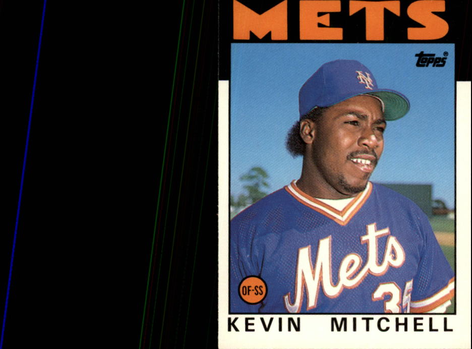 1986 Topps Traded #74T Kevin Mitchell XRC
