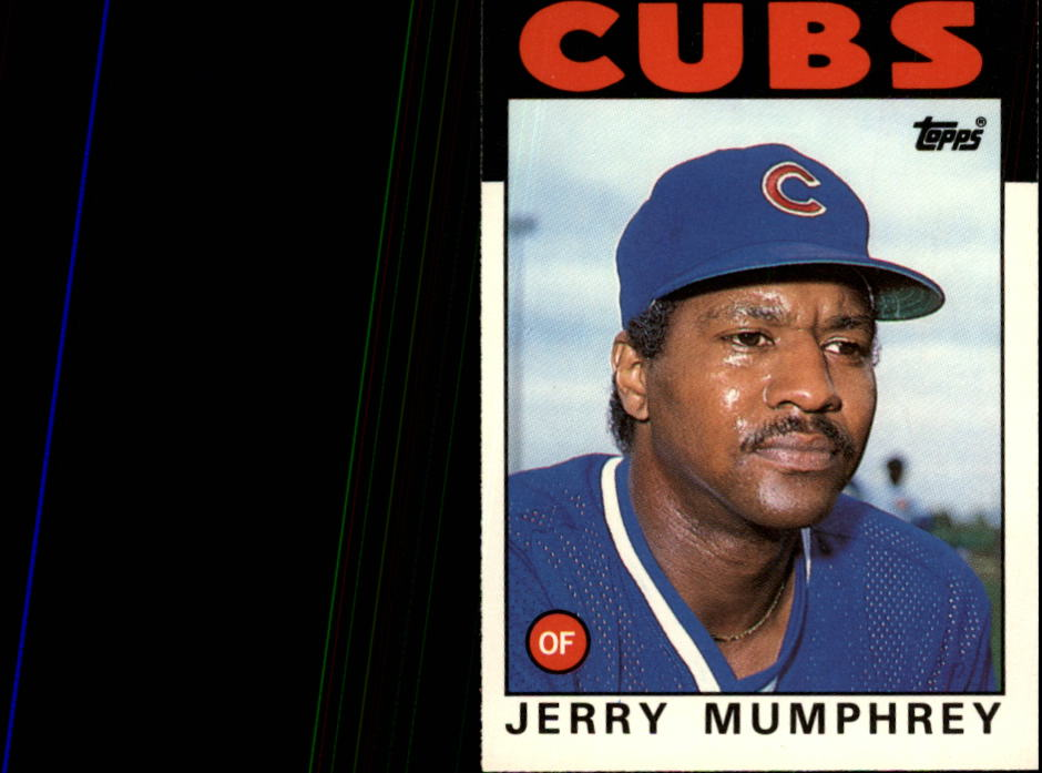 1986 Topps Traded #76T Jerry Mumphrey