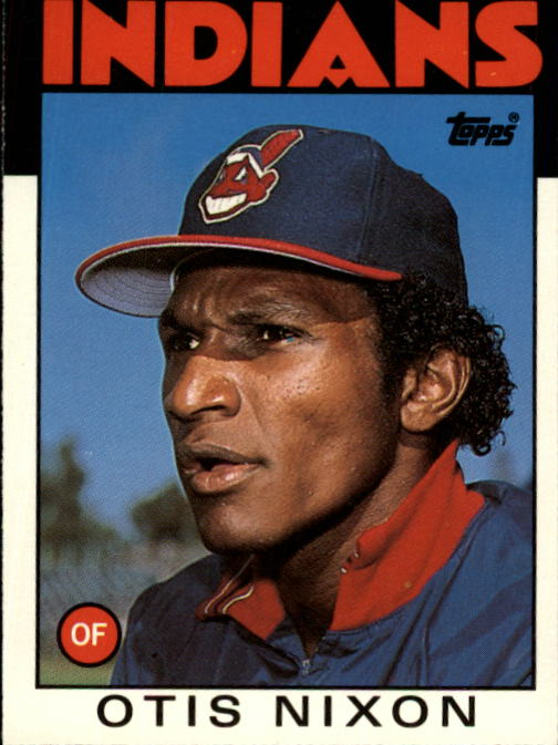 1986 Topps Traded #80T Otis Nixon XRC
