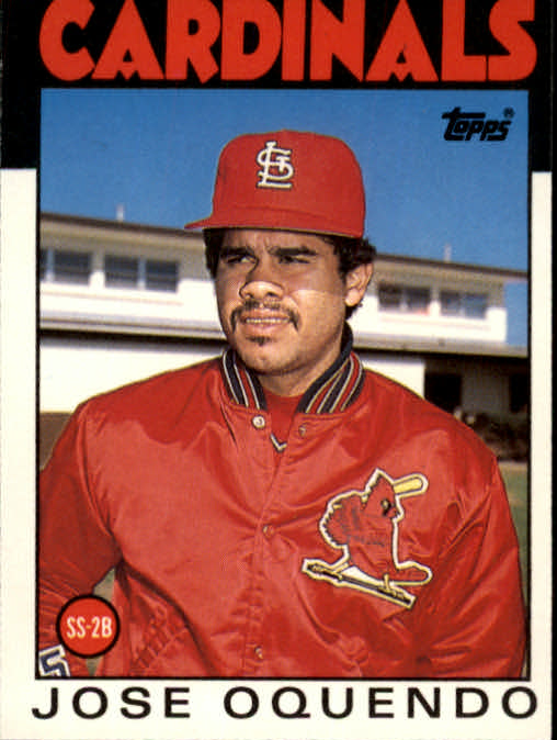 1986 Topps Traded #82T Jose Oquendo