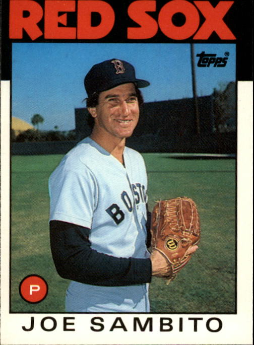 1986 Topps Traded #97T Joe Sambito