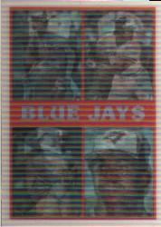 1987 Sportflics Team Preview #5 Toronto Blue Jays/Willie Upshaw/Tony Fernandez/
