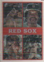 1987 Sportflics Team Preview #9 Boston Red Sox/Wade Boggs/Roger Clemens/Dennis