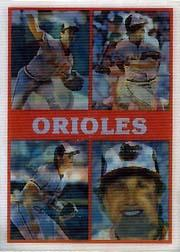 1987 Sportflics Team Preview #21 Baltimore Orioles/Don Aase/Mike Boddicker/Eric