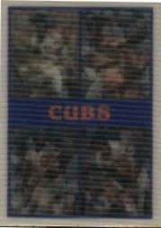 1987 Sportflics Team Preview #22 Chicago Cubs/Maddux/Palmeiro