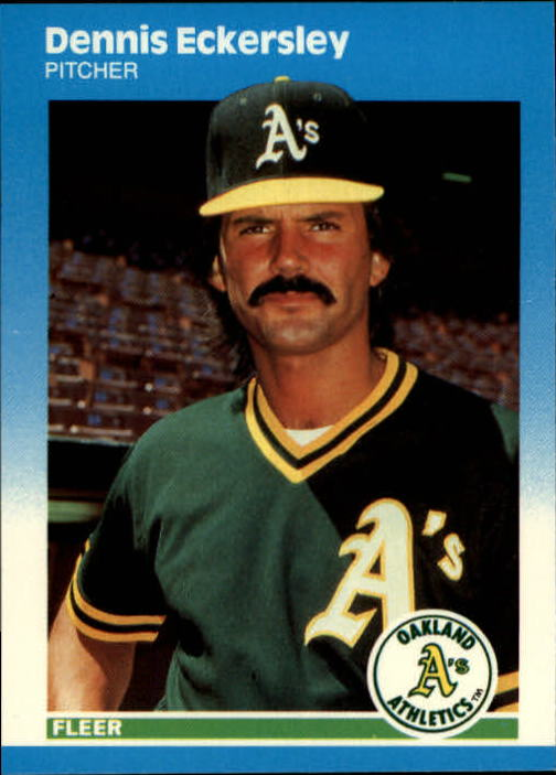 1987 Fleer Update #30 Dennis Eckersley