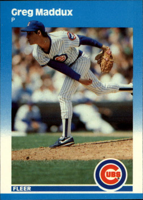 1987 Fleer Update #68 Greg Maddux XRC