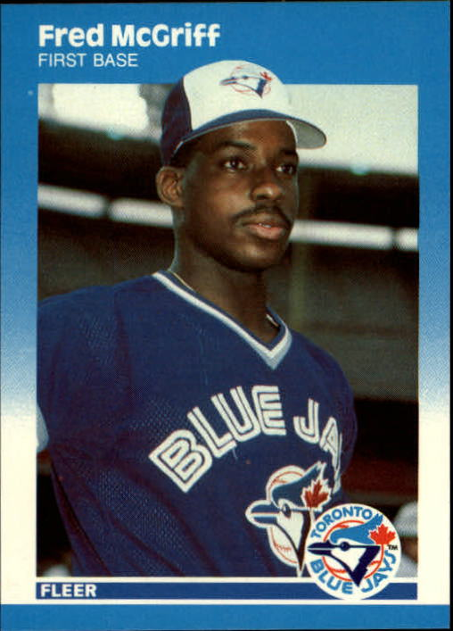 1987 Fleer Update #75 Fred McGriff