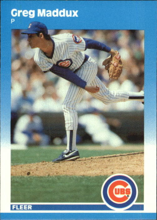 1987 Fleer Update Glossy #68 Greg Maddux