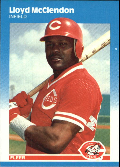 1987 Fleer Update Glossy #74 Lloyd McClendon