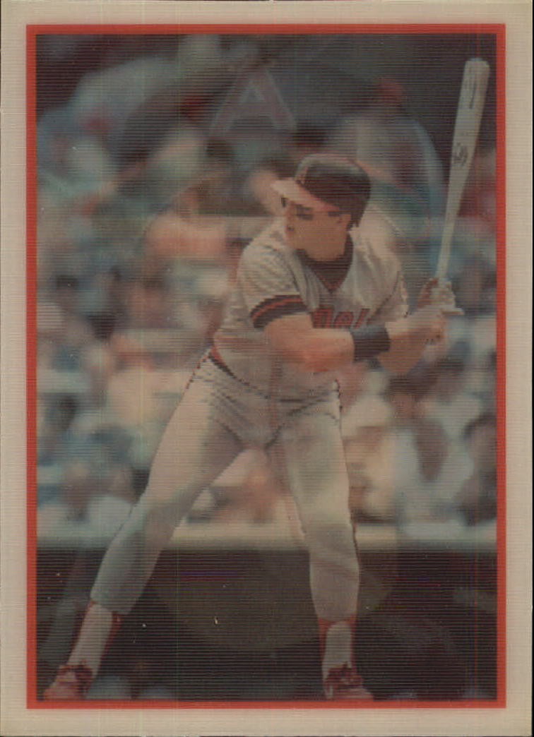 1987 Sportflics #26 Wally Joyner