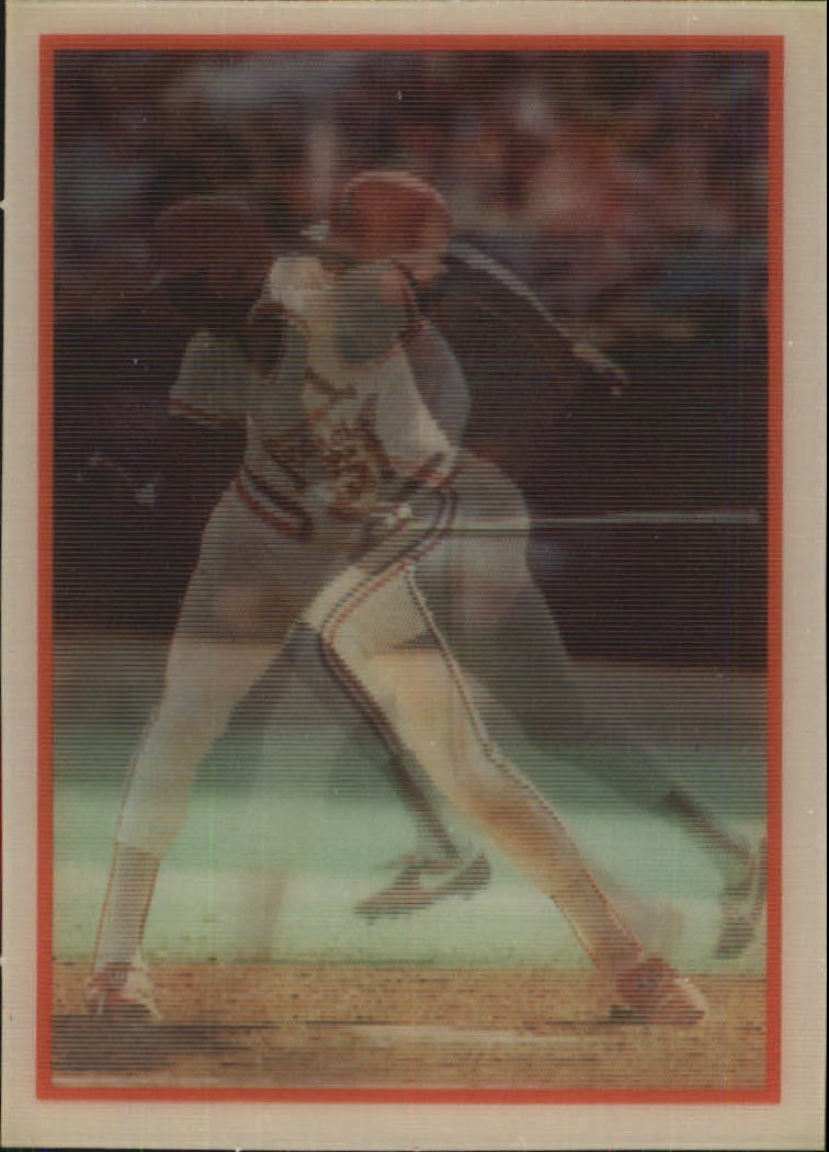 1987 Sportflics #74 Willie McGee