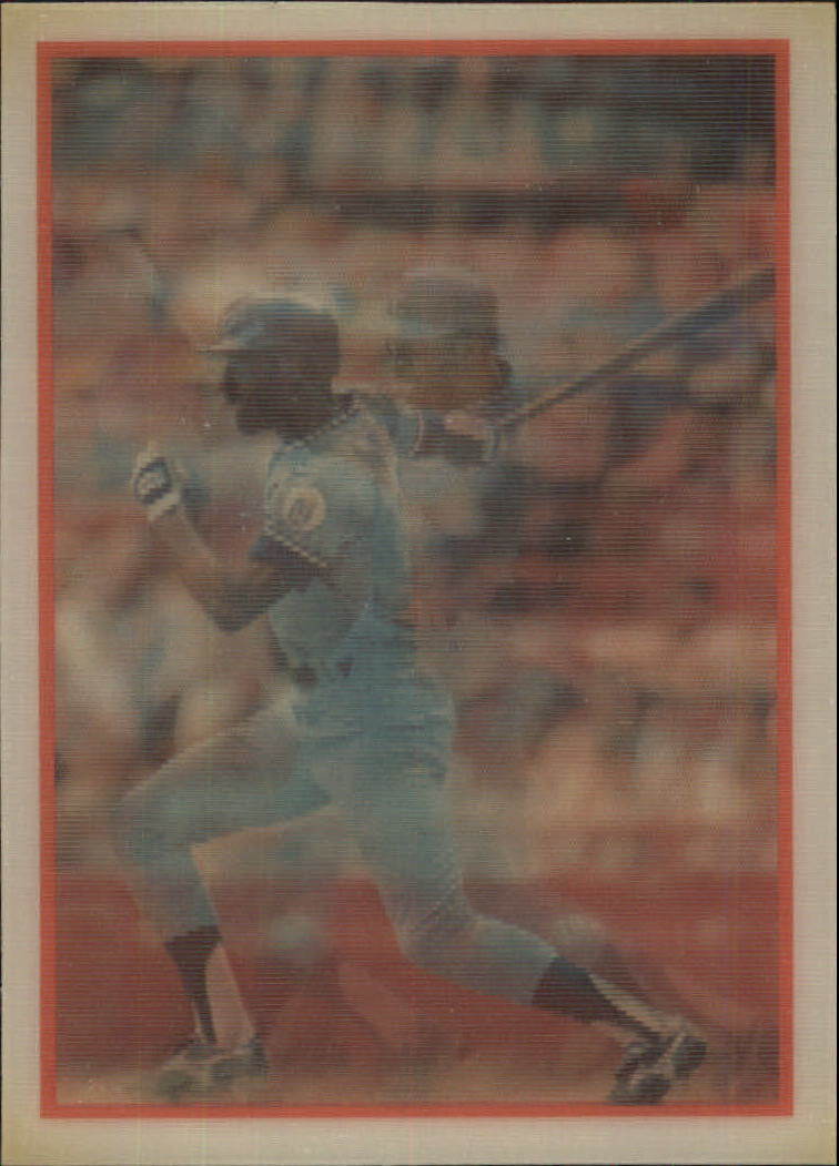 1987 Sportflics #85 Willie Wilson