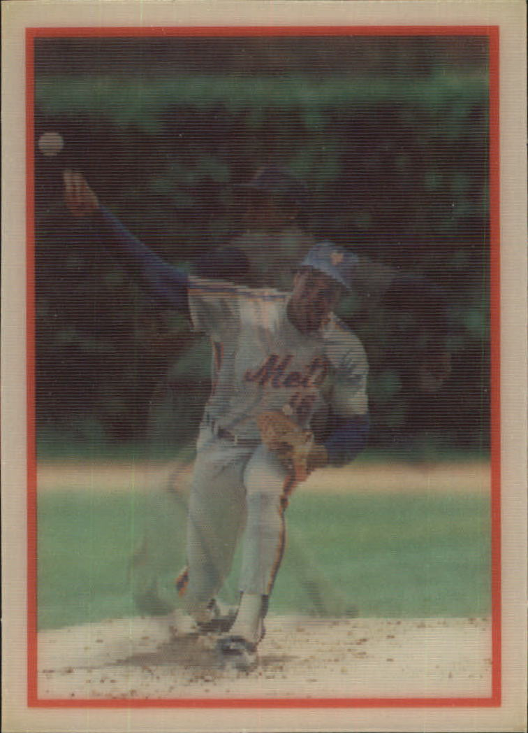 1987 Sportflics #100 Dwight Gooden