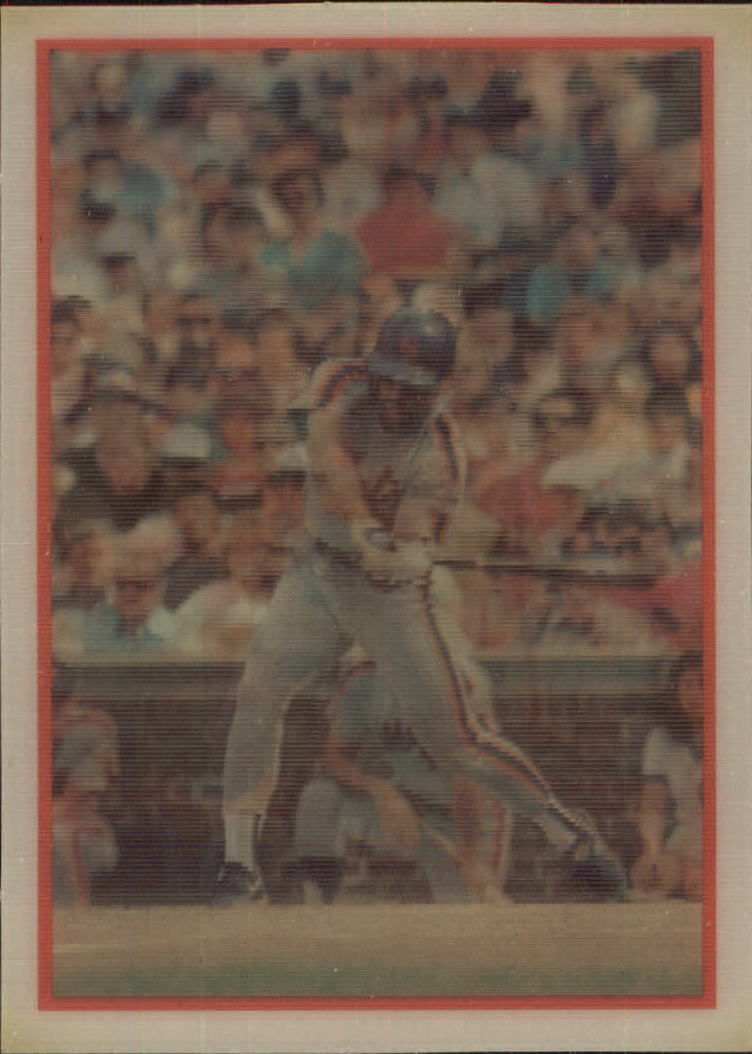 1987 Sportflics #124 Wally Backman