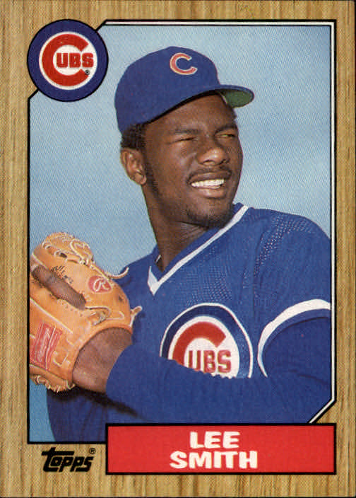 1987 Topps #23 Lee Smith