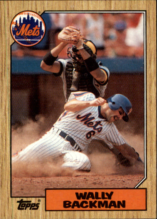 1987 Topps #48 Wally Backman
