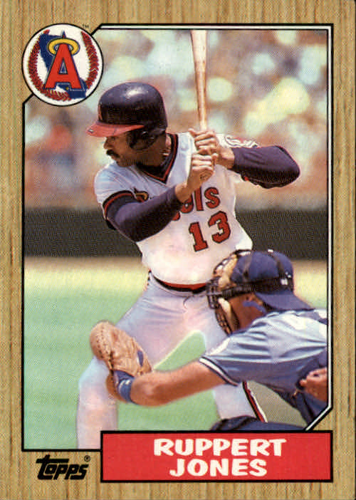 1987 Topps #53 Ruppert Jones