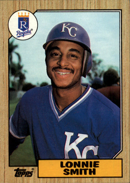 1987 Topps #69 Lonnie Smith