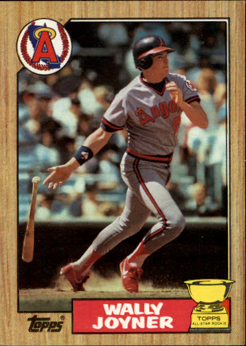 1987 Topps #80 Wally Joyner RC