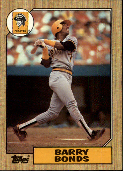 1987 Topps #320 Barry Bonds RC