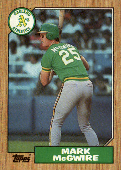 1987 Topps #366 Mark McGwire