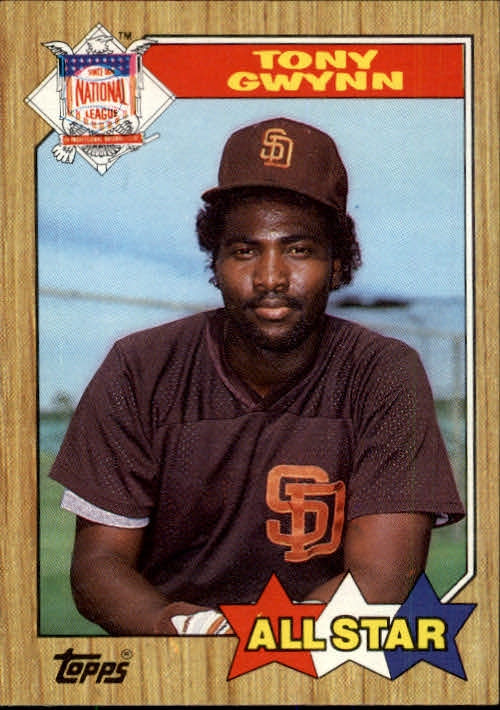 1987 Topps #599 Tony Gwynn AS