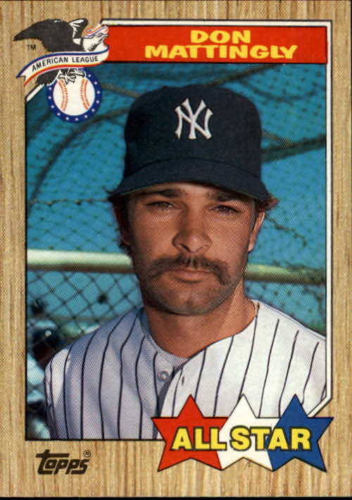 1987 Topps #606A Don Mattingly AS NoTM