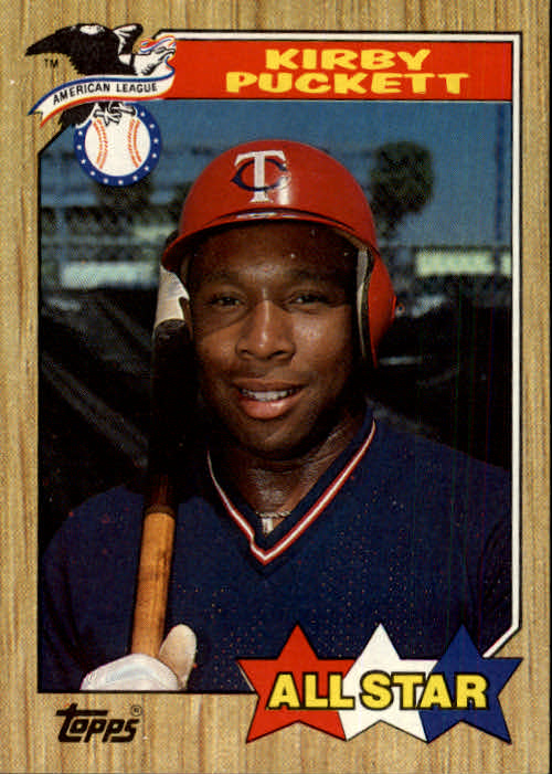 1987 Topps #611 Kirby Puckett AS