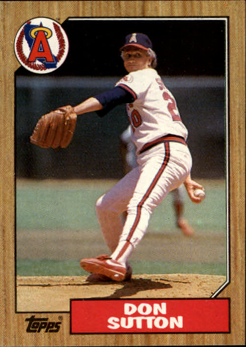 1987 Topps #673 Don Sutton