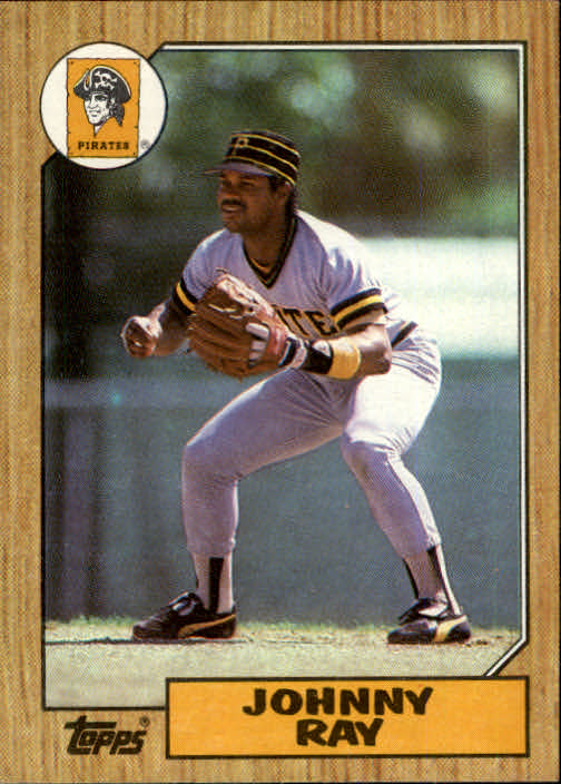 1987 Topps #747 Johnny Ray