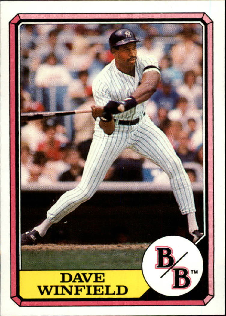 1987 Boardwalk and Baseball #4 Dave Winfield