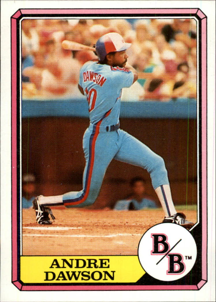 1987 Boardwalk and Baseball #10 Andre Dawson