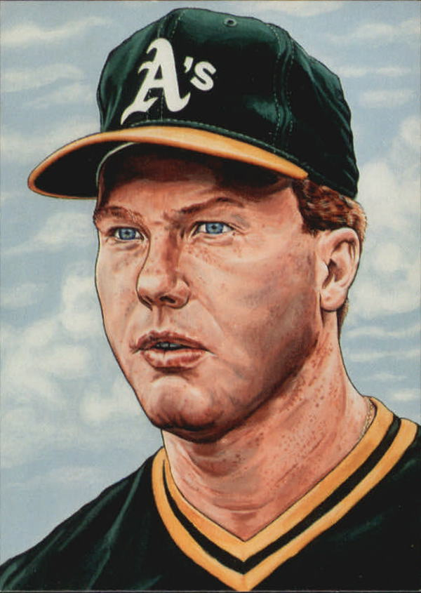 1987 Card Collectors McGwire #1 Mark McGwire/Drawing