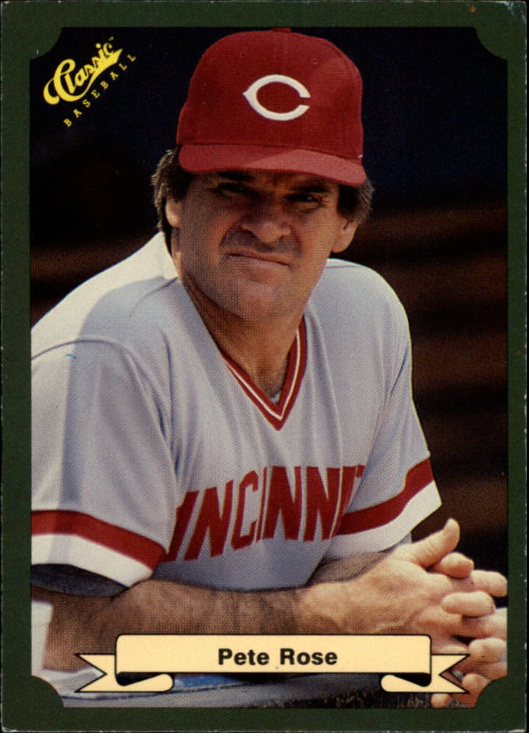 1987 Classic Game #1 Pete Rose