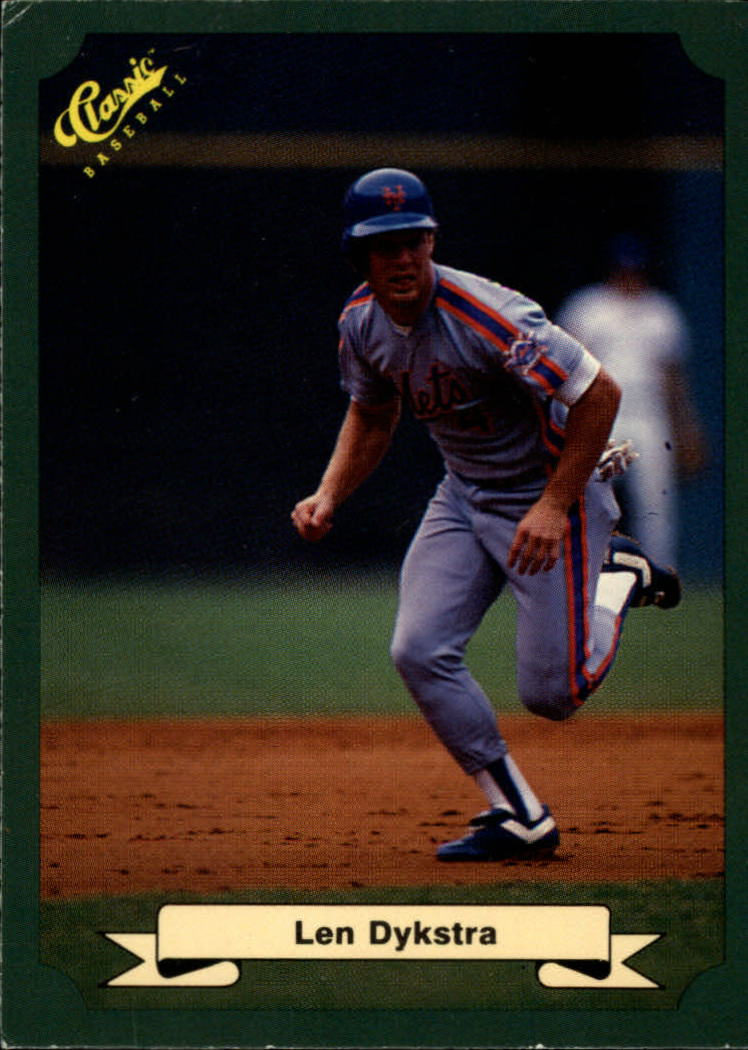1987 Classic Game #2 Len Dykstra