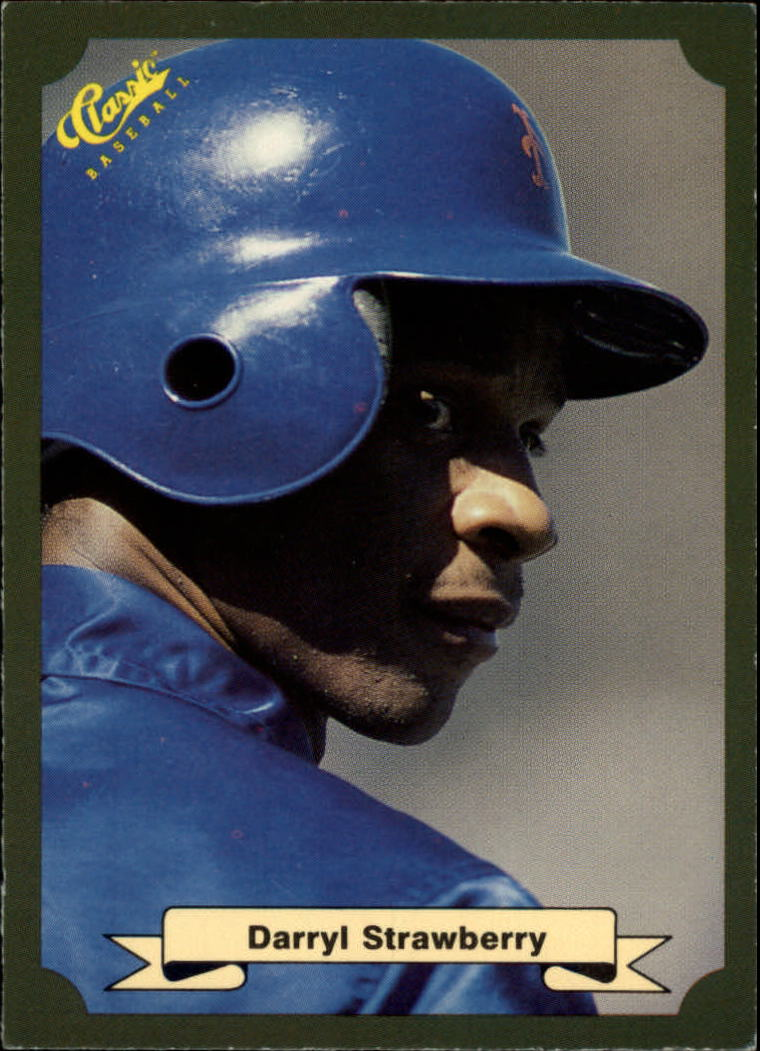 1987 Classic Game #3 Darryl Strawberry