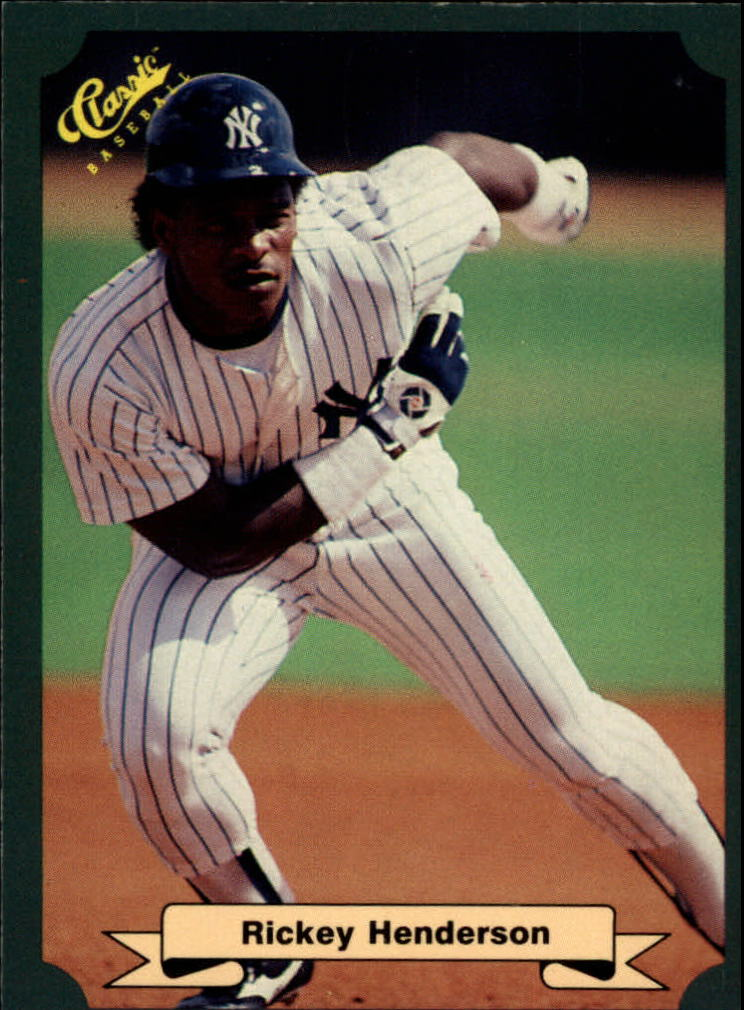 1987 Classic Game #12 Rickey Henderson