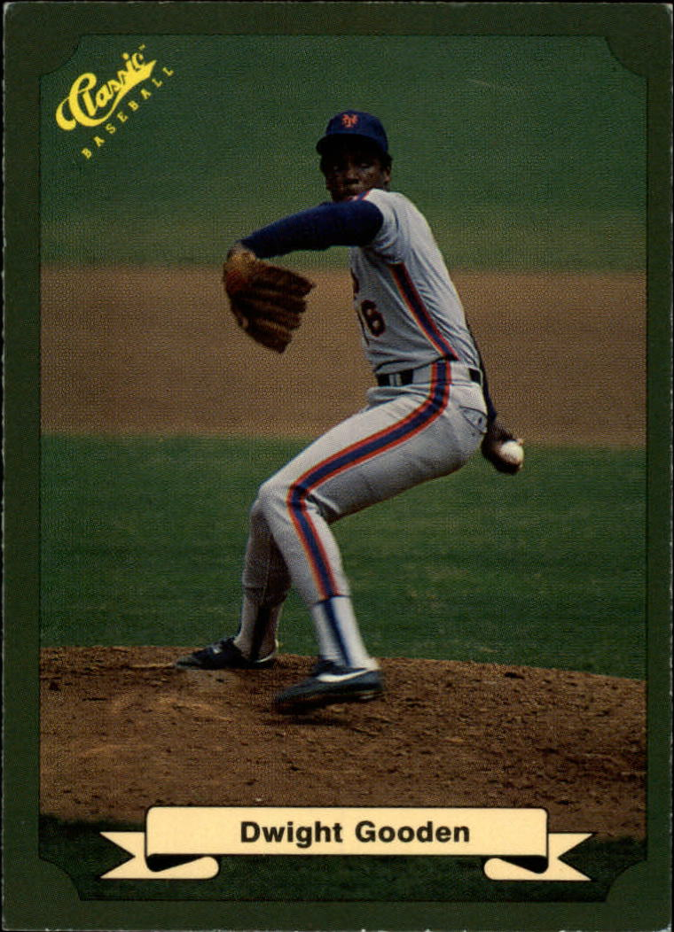 1987 Classic Game #72 Dwight Gooden