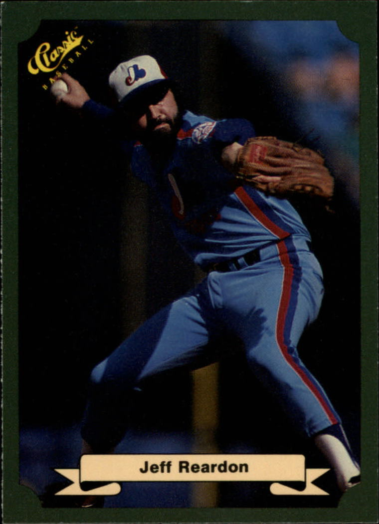 1987 Classic Game #94 Jeff Reardon