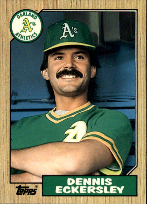1987 Topps Traded #31T Dennis Eckersley