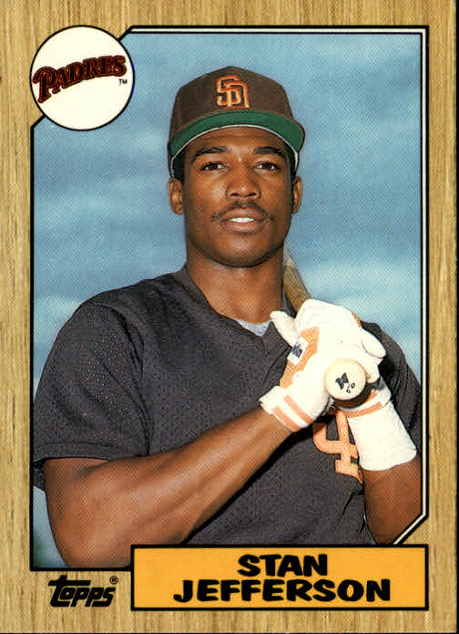 1987 Topps Traded #55T Stan Jefferson